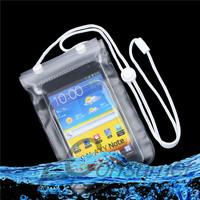 1 pcs Dry Bag Cas Waterproof Mobile Phone  Transparent With Scrub Wholesale