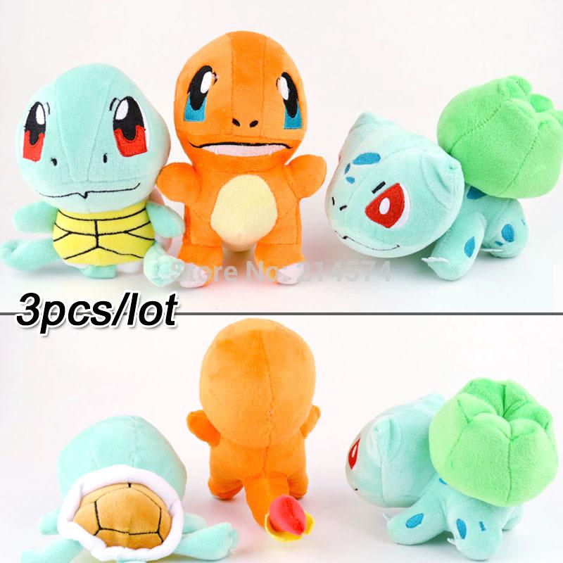Плюшевая игрушка Brand New 3pcs/peluche Brinquedos Meninas Pokemon комоды italbaby большой peluche