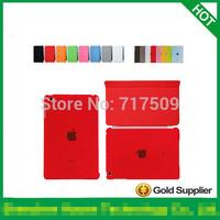 100 pcs PU Leather front Smart Cover+ 100pcs Hard Back Case For IPAD MINI and for ipad mini 2 retina and for ipad mini 3