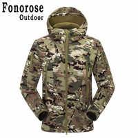 TAD Shark Soft Shell Sport Suit Jacket Military Waterproof Windproof Hiking Camping Hoody Camouflage Fleece Jackets Pants