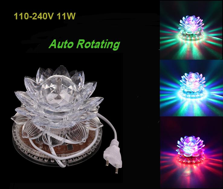 Освещения для сцены TOMTOP 110/220v 11W Auto RGB 51pcs Lotus L0091 освещения для сцены best 32pcs 3 7 19x3w rgb bt plf1903