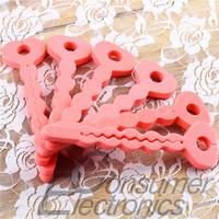 New 12PCS Magic Soft Hair Sponge  Curler Roller Tool free shipping Hot Selling