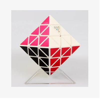 2015 NEW diamond 3x3x3 magnetic strange-shaped octahedron neocube white color magic cube magic square(China (Mainland))