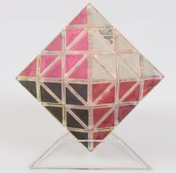 2015 NEW diamond 3x3x3 magnetic strange-shaped octahedron neocube transparent magic cube magic square(China (Mainland))