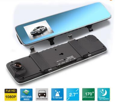 Car Driving Video Rearview Mirror Dvr Car Camera 1080P Mini Car Mirror Android Registrator Auto Dvr Drop Shipping Fr534(China (Mainland))