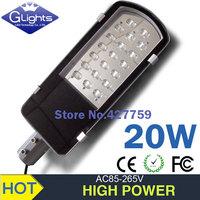 20W LED Street Lights led outdoor light,led street floodlight IP65 Warm white/cold white LED street lantern AC85-265V 24v 12v
