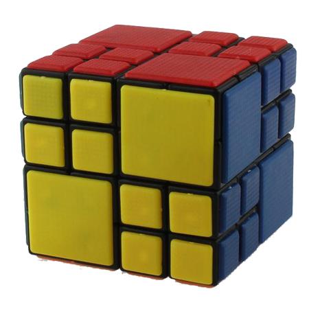 2015 Cube Twist AI cube bandage cube 4x4x4 conjoined cube 65mm strange-shaped magic puzzle neocube magnetic balls(China (Mainland))