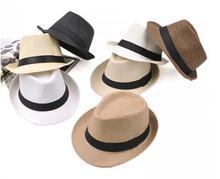 Мягкая фетровая шляпа  от Wholesale Fashion Ltd.1 для Мужская, материал Солома артикул 32291320866
