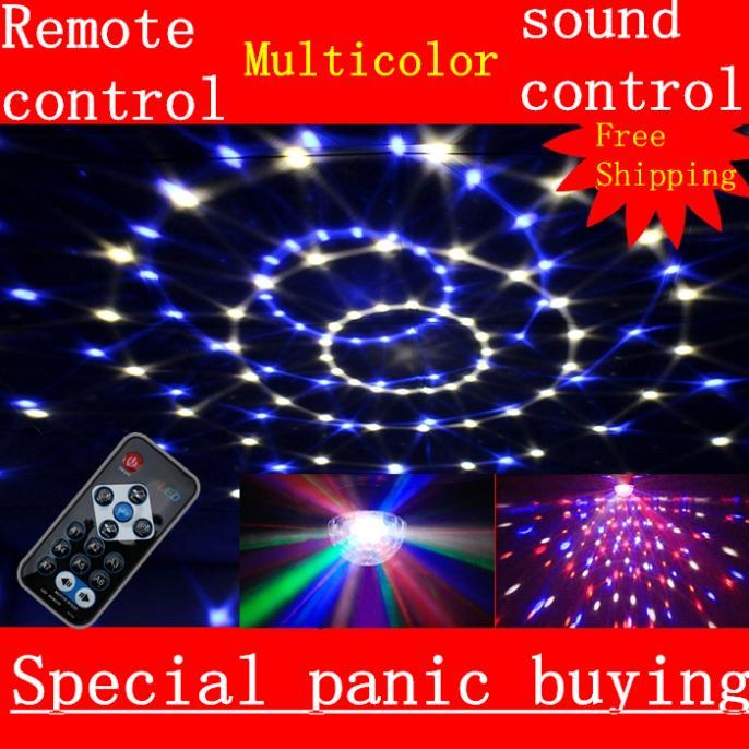 NEW!led Sound stage lighting disco crystal magic ball laser light beam lights bar ktv wedding laser par light flash effects(China (Mainland))