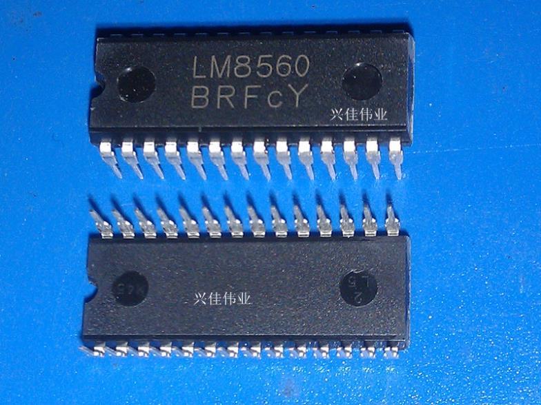часы LM8560 DIP28