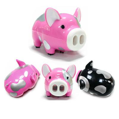 Electric Desktop Vacuum Cleaner Mini Dust Cleaner Pink Pig swine mini robot vacuum aspirador robotic mop robotic hepa filter(China (Mainland))