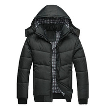 2015 New Fashion Warm cotton Padded Men Parkas Casual Hooded Coats Parka Men Jackets Brand Winter Men's Coat Outwear