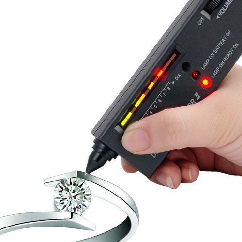 Portable Diamond Gemstone Tool Gems Jewel Jewelry Tester Selector V2 LED Hot Selling Dropship
