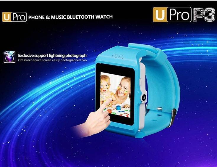 Bluetooth smart watch wrist watch smartWatch for iphone6 5 5s samsung s5 Note 4 HTC Android phone smartphones U Watch U Pro P3(China (Mainland))