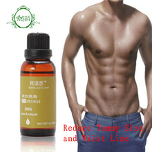 Men's Slim products  Slimming essential oils  for reduce tripe lose weight 30ml reduce tummy size &waist Line
