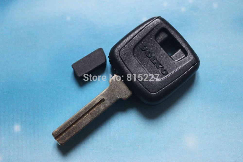 Car Transponder Chip Key Blank Volvo Key Shell Case + Free Shipping(China (Mainland))