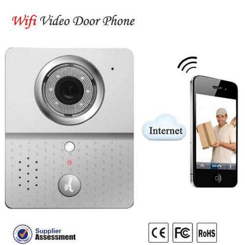 Android APP I-O-S APP wireless doorphone wifi doorphone wifi doorbell(China (Mainland))
