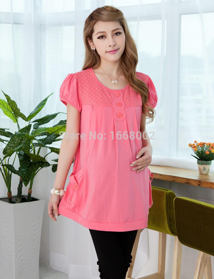 Блузки и Рубашки для беременных Yunzhiyi 2015 yzy-80051 цена и фото
