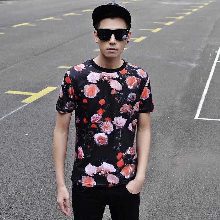 Мужская футболка S&T 2015 t 3D t slim fit sport camisetas & t819 футболка wearcraft premium slim fit printio акула
