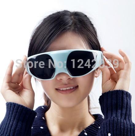 Health care Eye myopia prevention Black Eyes massage glasses eye care massager(China (Mainland))