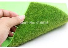 Simulação realista gramado verde grama Mat Mat buxo Artificial simulação Moss para decoração de casamento jardim DIY 15 * 15 CM(China (Mainland))