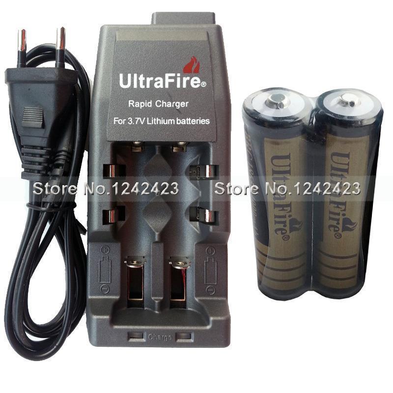 Зарядное устройство UltraFire wf/139 + 2 UltraFire 3.7V 4000mAh 18650 WF-139