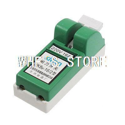 AC 220V 16A 2 Poles Electronic Circuit Control Knife Disconnect Switch(China (Mainland))