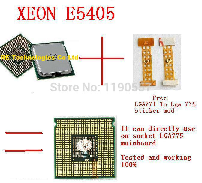 Процессор для ПК XEON E5405 , Intel XEON E5405 2,0 /LGA771/12 L2 процессор lenovo intel xeon processor e5 2650 v4 12c 2 2ghz 30mb cache 2400mhz 105w kit for x3650m5 00yj197