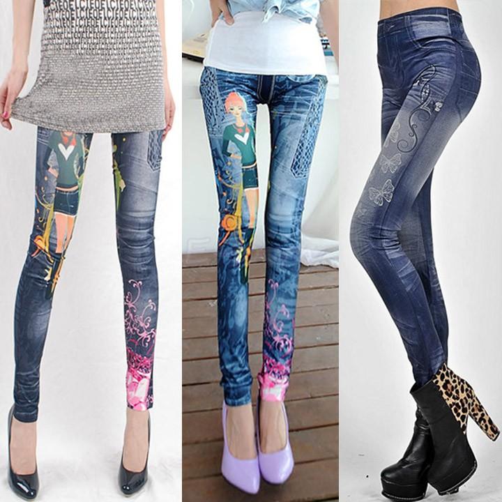 Womens Skinny Jeans High Waist High Waist Jeans Leggings