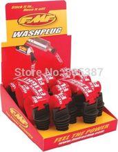 6 colors! 4-Stroke Universal Muffler Exhaust Plug Large ZXTD Exhaust Plug Pipe Muffler Silencer Wash Plug for Motorbike(China (Mainland))