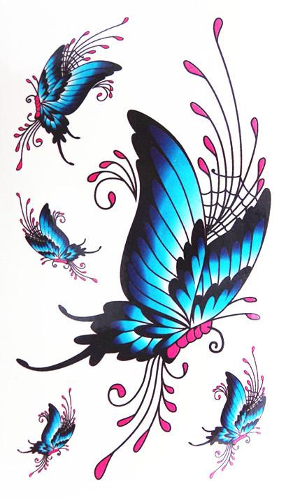 volando las mariposas tatuajes al por mayor de alta calidad de ...