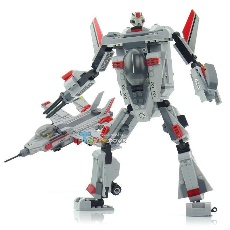 ABS Sonics 2-in-1 star diamond type shape shifting robot assemble building blocks toys 30101 hora de aventura(China (Mai