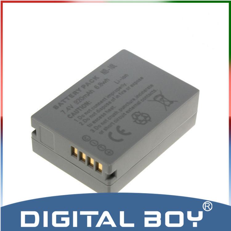 Гаджет  Drop shipping!1 pc 7.4V 920mAh Battery NB-10L NB 10L NB10L Rechargeable Li-ion Battery For Canon PowerShot SX40 HS SX40 z1 None Электротехническое оборудование и материалы