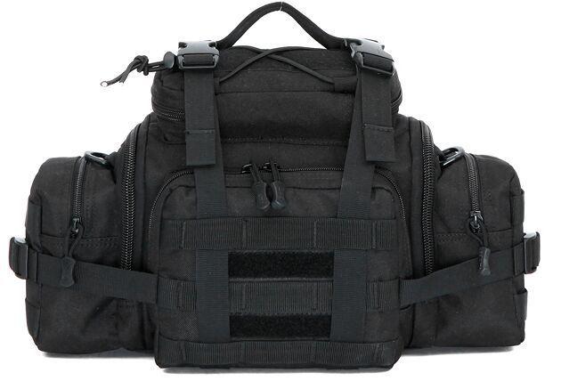 3 Colors 1000D Molle Tactical 3 Ways Utility Waist/Shoulder/Handbag Pouch Bag(China (Mainland))