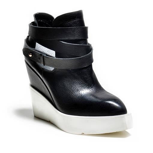 2016 Fashion Brand shoes woman genuine leather boots autumn wedges high heels women ankle boots ladies shoes(China (Mainland))