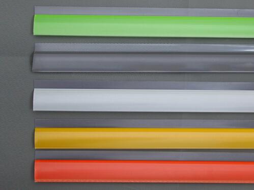120cm shelf clamp snap cover guard price snap price label holder strip shelf talker PVC advertising data strip(China (Mainland))