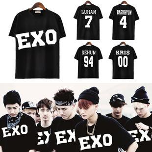 Женская футболка 2015 EXO K SBS s/xxl EXO none 2015 exo