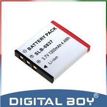 Digital Boy 1Pcs 3.7V SLB-0837 SLB0837 SLB 0837 replacement Battery For Camera Samsung Digimax i5 i6 i50 L60 NV3 NV7 z1