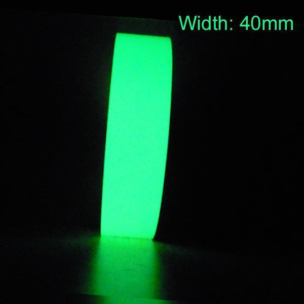 Сигнальная лента Unbranded 40 * 2 m glow-tape-4 лента сигнальная момент хозлента момент сигнальная не клейкая 50мм х 200м