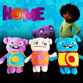 2015 dreamworks фильм домой - он Boov Rainb плюшевые мягкие игрушки - капитан Smek анимация в европе плюшевые игрушки подарок на день рождения детские игрушки