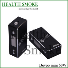 Newest 100% Original Dovpo Mini 50W Box Mod VV VW E-cigarette Mod With OLED Display VS iStick 50w Kanger Kbox free shipping