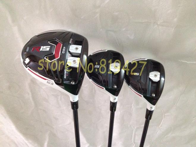 клюшка для гольфа 2015 R15 + R15 3# 5# speeder57 /R15