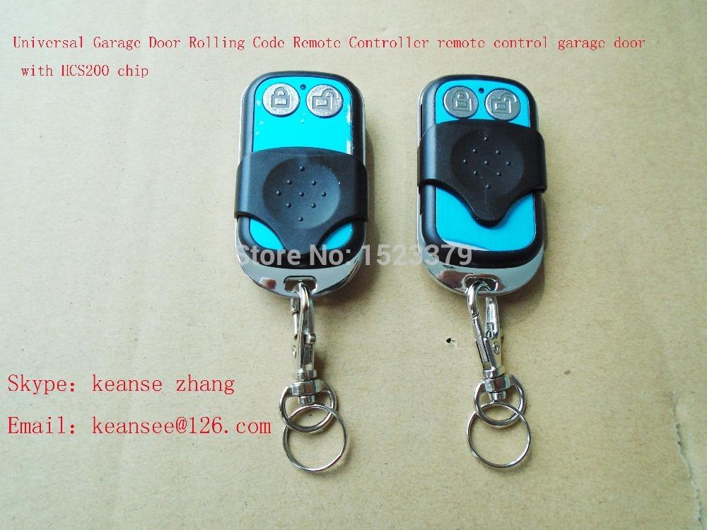 Universal Garage Door Rolling Code Remote Controller remote control garage door with HCS200 chip(China (Mainland))