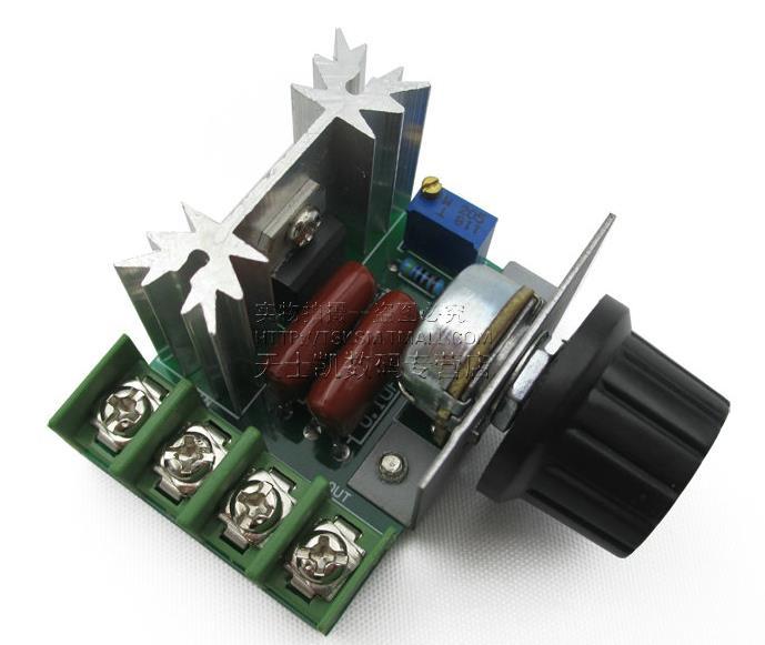 2000W 220V AC SCR Electric Voltage Regulator Motor Speed Control Controller SG045-SZ(China (Mainland))