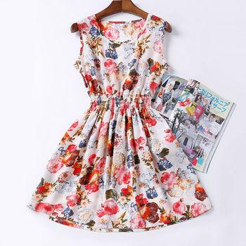 2015 качество дешевые платье свадебные платья для печать женская одежда свободного покроя Roupas Desigual Vestidos ренда тропический лето дамы мода платье