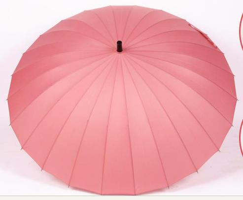 24 Ribs Super Big Resist 12 Level Rainstorm Umbrella Rain Sun Women Men High Quality