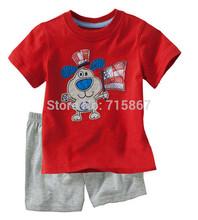 New 2015 brand Autumn Jumping beans Cotton Cartoon Carters Baby Clothing Sets Carters children set boy