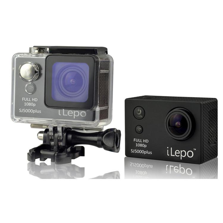 "Original iLepo Wifi sj5000 Plus Sport Action Camera 16MP 1080P Full HD 2"" LCD Screen Coated Glass Waterproof 30m Video Camera(China (Mainland))"