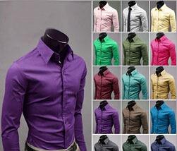 Мужская приталенная рубашка Men casual camisas XXXL 2015 Camisas Masculina 17 MT-036 camisas qy358