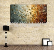 100%Handpainted Abstract Modern Art Hang Oil Painting On Canvas Wall Pictures For Home Decor Beautiful Painting Craft(China (Mainland))